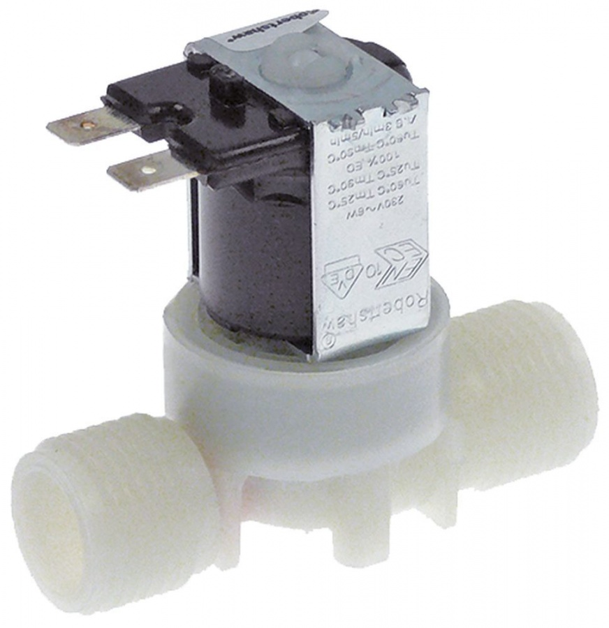 Magnetventil 1-fach Gerade 230V Spannung AC 1_374097