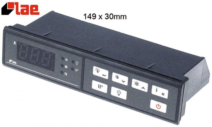Elektronikregler LAE Typ AD-32S35W-B Einbaumaß 163x31,5mm 230V Spannung AC  NTC