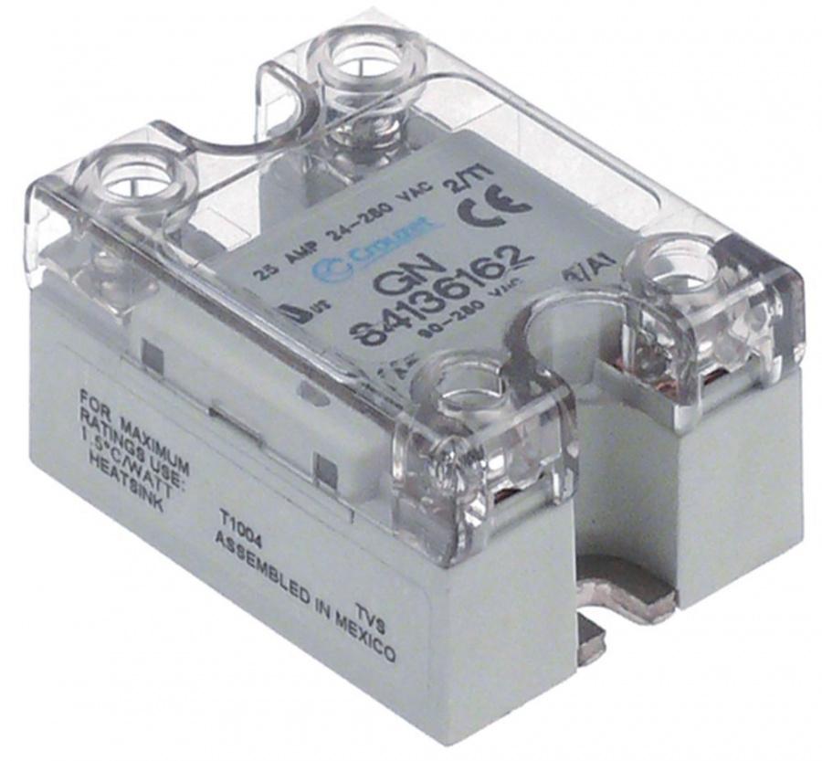 solid state relay CROUZET 1 phase 25A 24280V horecatiger